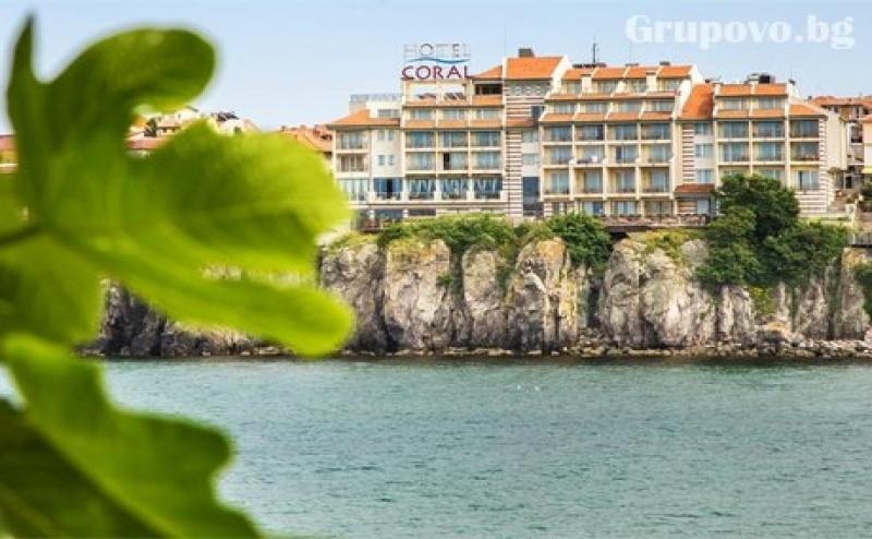 Ранни записвания за море в Созопол! Нощувки на човек със закуска + басейн в хотел Корал - на метри от морето