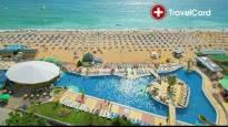 Нощувка за двама възрастни плюс деца до 13 г. на база ALL Inclusive  на морския бряг в хотел Морско Око**** , к.к. Златни пясъци