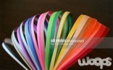 Цветни лентички за Квилинг изкуство